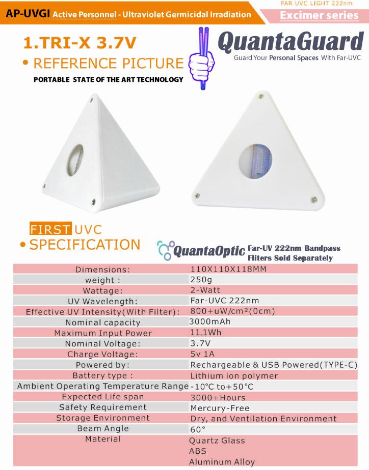 AP-UVGI-Active-Personnel-Ultraviolet-Germicidal-Irradiation-QuantaGuard-Excimer-far-uv-portable-low-voltage-far-uv-bulb