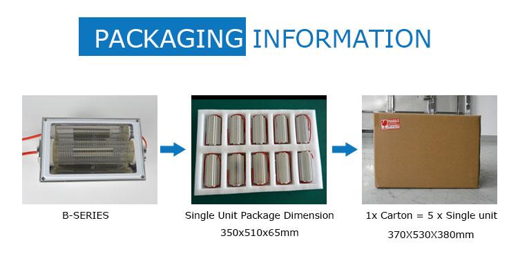 packaging-Far-uvc-Quantalamp-b-series-FirstUVC-24V-Far-UV-222nm-20-watt-Excimer-far-uvc-light-222nm-20-watt-Lamp-f28-24v-dc